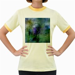 Background Texture Structure Women s Fitted Ringer T Shirts by Amaryn4rt