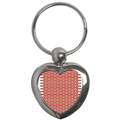 Brick Lake Dusia Texture Key Chains (heart)  by Amaryn4rt