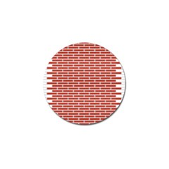 Brick Lake Dusia Texture Golf Ball Marker (10 Pack) by Amaryn4rt