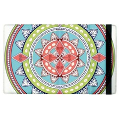 Drawing Mandala Art Apple Ipad 3/4 Flip Case by Amaryn4rt
