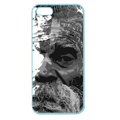 Grandfather Old Man Brush Design Apple Seamless Iphone 5 Case (color) by Amaryn4rt
