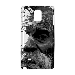 Grandfather Old Man Brush Design Samsung Galaxy Note 4 Hardshell Case by Amaryn4rt