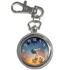 Hardest Frost Winter Cold Frozen Key Chain Watches by Amaryn4rt