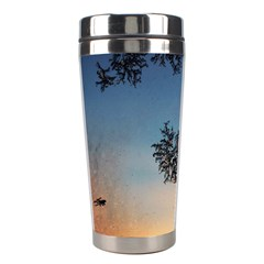 Hardest Frost Winter Cold Frozen Stainless Steel Travel Tumblers by Amaryn4rt