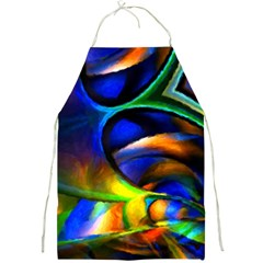 Light Texture Abstract Background Full Print Aprons by Amaryn4rt