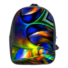 Light Texture Abstract Background School Bags (xl)  by Amaryn4rt