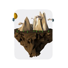 Low Poly Floating Island 3d Render Apple Ipad 2/3/4 Protective Soft Cases by Amaryn4rt