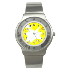 Mail Holyday Vacation Frame Stainless Steel Watch by Amaryn4rt