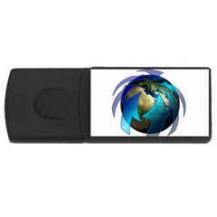 Migration Of The Peoples Escape Usb Flash Drive Rectangular (4 Gb)