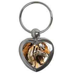 Royal Tiger National Park Key Chains (heart)  by Amaryn4rt