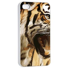 Royal Tiger National Park Apple Iphone 4/4s Seamless Case (white) by Amaryn4rt