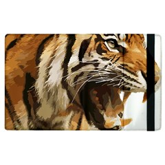 Royal Tiger National Park Apple Ipad 3/4 Flip Case by Amaryn4rt