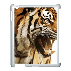 Royal Tiger National Park Apple Ipad 3/4 Case (white) by Amaryn4rt