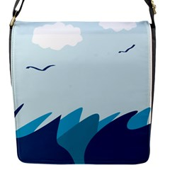 Sea Flap Messenger Bag (s)