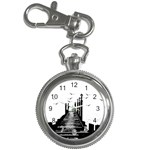 The Pier The Seagulls Sea Graphics Key Chain Watches Front