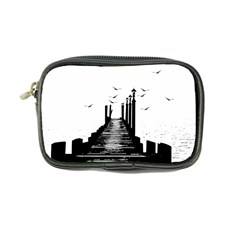 The Pier The Seagulls Sea Graphics Coin Purse by Amaryn4rt