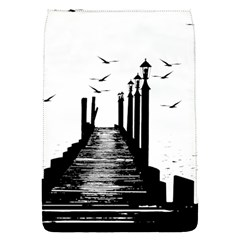 The Pier The Seagulls Sea Graphics Flap Covers (s)  by Amaryn4rt