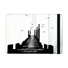 The Pier The Seagulls Sea Graphics Ipad Mini 2 Flip Cases by Amaryn4rt