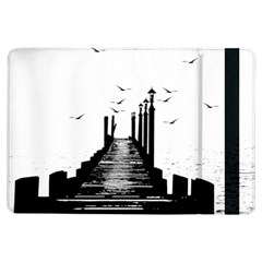 The Pier The Seagulls Sea Graphics Ipad Air Flip by Amaryn4rt