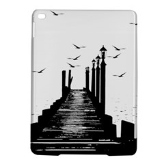 The Pier The Seagulls Sea Graphics Ipad Air 2 Hardshell Cases by Amaryn4rt