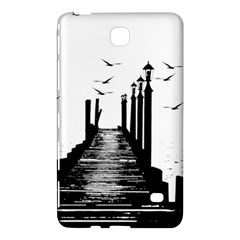 The Pier The Seagulls Sea Graphics Samsung Galaxy Tab 4 (7 ) Hardshell Case  by Amaryn4rt