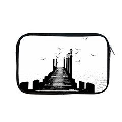 The Pier The Seagulls Sea Graphics Apple Macbook Pro 13  Zipper Case by Amaryn4rt