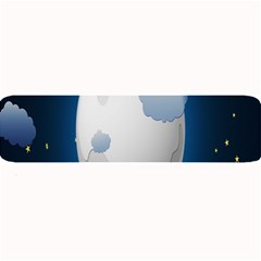 Blue Sky Cloud Star Moon Large Bar Mats by Jojostore