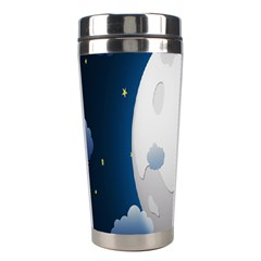 Blue Sky Cloud Star Moon Stainless Steel Travel Tumblers by Jojostore