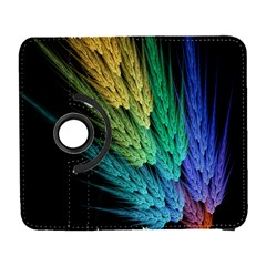 Abstract Fractal Galaxy S3 (flip/folio) by Jojostore