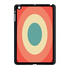 Circles Colorful Bull s Eye Apple Ipad Mini Case (black) by Jojostore