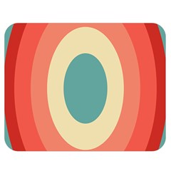 Circles Colorful Bull s Eye Double Sided Flano Blanket (medium)  by Jojostore