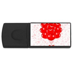 Abstract Background Balloon Usb Flash Drive Rectangular (4 Gb) by Nexatart