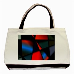 3d And Abstract Basic Tote Bag