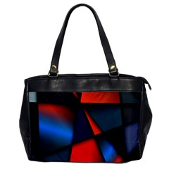 3d And Abstract Office Handbags by Nexatart