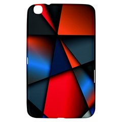 3d And Abstract Samsung Galaxy Tab 3 (8 ) T3100 Hardshell Case  by Nexatart