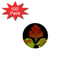 Autumn Beauty 1  Mini Buttons (100 Pack)  by Nexatart