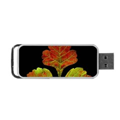 Autumn Beauty Portable Usb Flash (one Side) by Nexatart