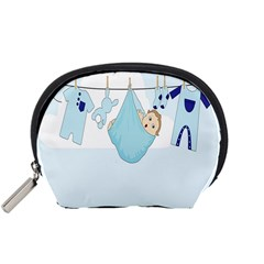 Baby Boy Clothes Line Accessory Pouches (small)  by Nexatart
