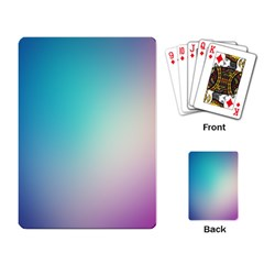 Background Blurry Template Pattern Playing Card by Nexatart
