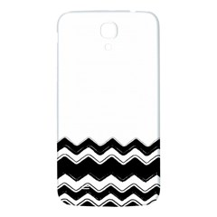 Chevrons Black Pattern Background Samsung Galaxy Mega I9200 Hardshell Back Case