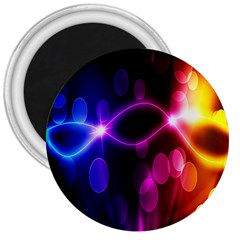 Circle Color 3  Magnets by Jojostore