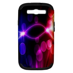 Circle Color Samsung Galaxy S Iii Hardshell Case (pc+silicone)