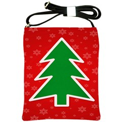 Christmas Tree Shoulder Sling Bags