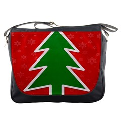 Christmas Tree Messenger Bags