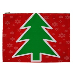 Christmas Tree Cosmetic Bag (xxl)