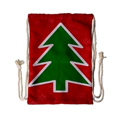 Christmas Tree Drawstring Bag (small)