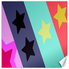 Cool Star Flag Canvas 12  X 12   by Jojostore