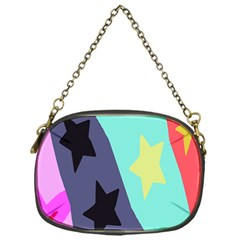 Cool Star Flag Chain Purses (one Side)  by Jojostore