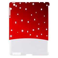 Christmas Background  Apple Ipad 3/4 Hardshell Case (compatible With Smart Cover) by Nexatart