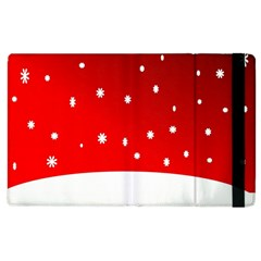Christmas Background  Apple Ipad 2 Flip Case
